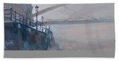 Foggy Hoeg Beach Sheet by Nop Briex