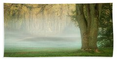 Foggy Morning Beach Sheet