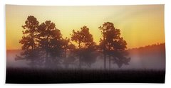 Foggy Ozark Morning  Beach Towel