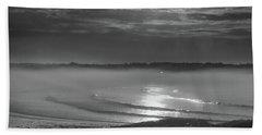 Foggy Sunrise Beach Sheet