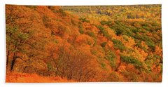 Foliage Hills  Beach Sheet