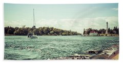 Beach Sheet featuring the photograph Follow Me Now by Joel Witmeyer