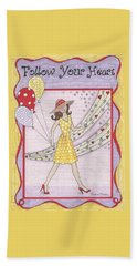 Follow Your Heart Beach Towel