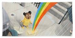 Follow Your Rainbow Beach Towel