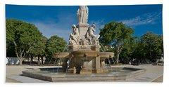Fontaine De Pradier Beach Towel