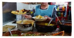 Food Court In Paracho Beach Sheet