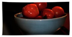 Beach Towel featuring the photograph Food Tasty Tomatoes by Lesa Fine