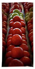 Food Tomatoes Marching Maters Beach Sheet