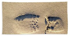 Foot Print Beach Towel