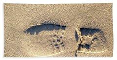 Foot Print Beach Towel