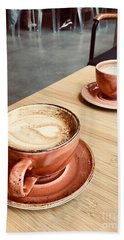 For The Love Of Coffee Beach Towel