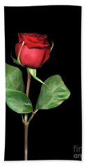 For You My Darling With Love Beach Towel