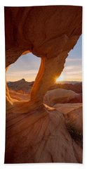 Beach Towel featuring the photograph Forbidden Mojave by Dustin LeFevre