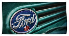 Beach Towel featuring the photograph Ford 85 by Caitlyn Grasso