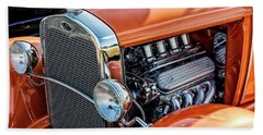 Beach Towel featuring the photograph Ford Coupe II by Brad Allen Fine Art