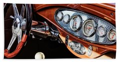 Beach Towel featuring the photograph Ford Coupe IIi by Brad Allen Fine Art