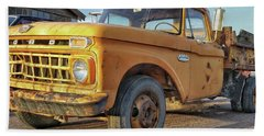 Ford F-150 Dump Truck Beach Towel