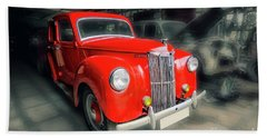 Beach Towel featuring the photograph Ford Prefect by Charuhas Images