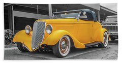 Ford Roadster Beach Towel