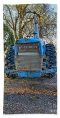 Ford Tractor Beach Towel