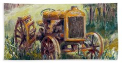 Fordson Tractor Beach Sheet