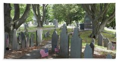 Forefathers' Cemetery Beach Towel