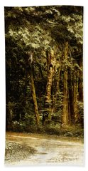Forest Curve Beach Towel
