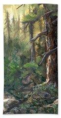 Forest Deep Beach Sheet