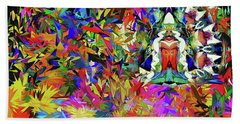 Forest Deity Beach Towel