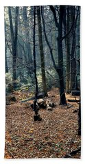 Fir Forest-1 Beach Towel
