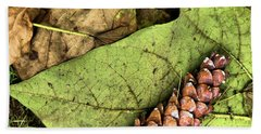 Forest Floor Still Life Beach Towel