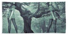 Forest Harmony Beach Towel