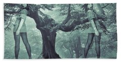 Forest Harmony Beach Towel