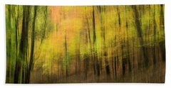 Forest Impressions Beach Towel