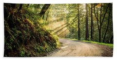 Forest Light Beach Sheet