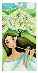 Forest Melody Beach Towel