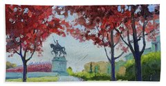 Forest Park Autumn Colors Beach Towel