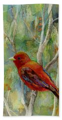 Forest Serenity Beach Towel
