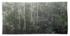Forest, Sun Swamp Beach Towel