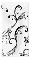 Forest Swirl Series 1 Beach Towel