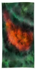 Forest Under Fire Beach Towel