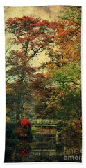Forest Vintage Beach Towel