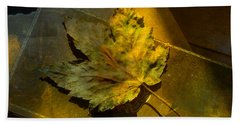 Beach Towel featuring the photograph Forever Autumn by LemonArt Photography