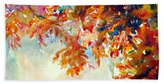 Forever Fall Beach Towel