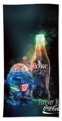 Forever Young Coca-cola Beach Sheet