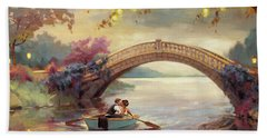 Beach Towel featuring the painting Forever Yours by Steve Henderson