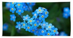 Forget -me-not 5 Beach Towel