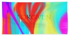 Forgiven Beach Towel