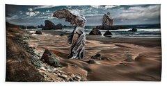 Forgotten Sentinels Beach Towel