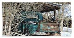 Forgotten Truck Beach Sheet